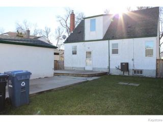 Photo 20: 721 Atlantic Avenue in Winnipeg: North End Residential for sale (4C)  : MLS®# 1629183
