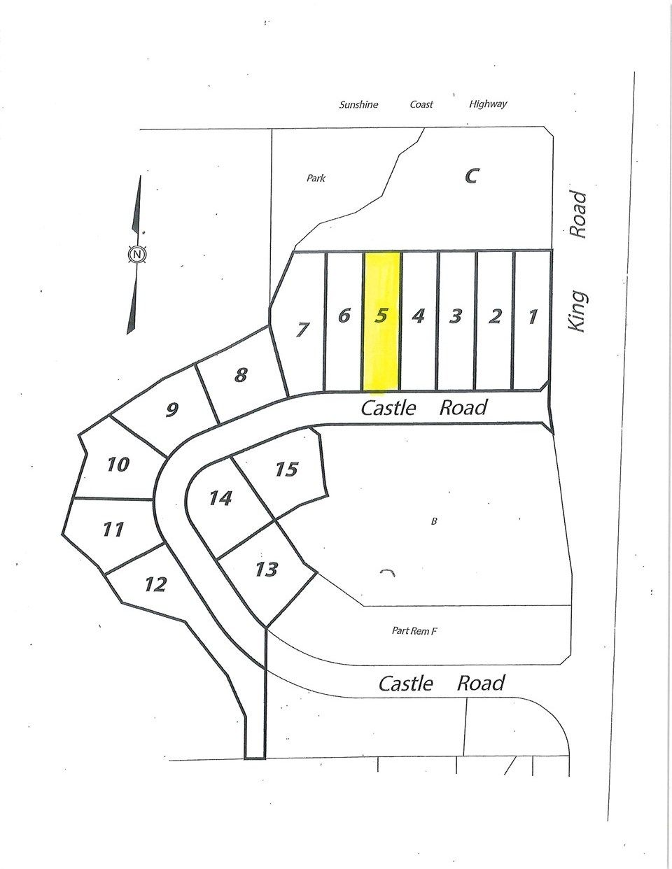 """Main Photo: LOT 5 CASTLE Road in Gibsons: Gibsons & Area Land for sale in """"KING & CASTLE"""" (Sunshine Coast)  : MLS®# R2422363"""