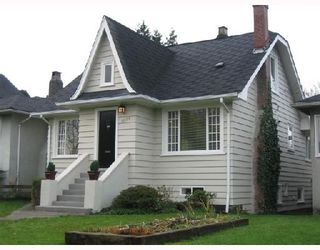 Photo 1: 3055 WATERLOO Street in Vancouver: Kitsilano House for sale (Vancouver West)  : MLS®# V745267