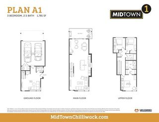Photo 2: 104 8413 Midtown Way in Chilliwack: Townhouse for sale