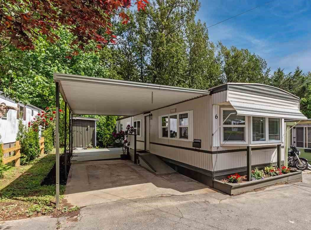 """Main Photo: 6 32380 LOUGHEED Highway in Mission: Mission BC Manufactured Home for sale in """"The Grove Mobile Home Park"""" : MLS®# R2586007"""