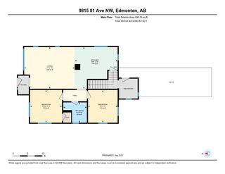 Photo 48: 9815 81 Avenue in Edmonton: Zone 17 House for sale : MLS®# E4262236