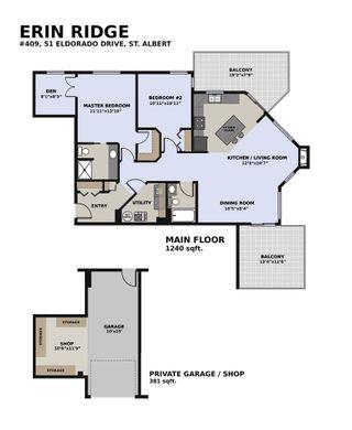 Photo 2: 409 51 Eldorado Drive: St. Albert Condo for sale : MLS®# E4228035