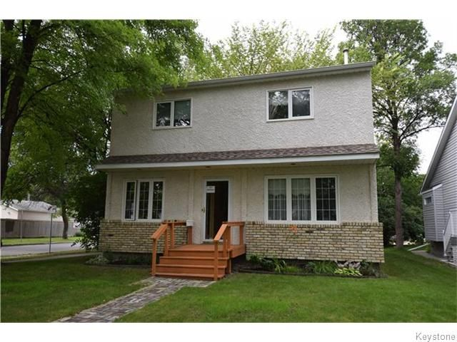 Main Photo: 121 Baltimore Road in Winnipeg: Riverview Residential for sale (1A)  : MLS®# 1621797
