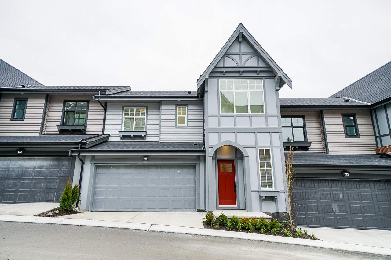 "Main Photo: 48 3552 VICTORIA Drive in Coquitlam: Burke Mountain Townhouse for sale in ""VICTORIA"" : MLS®# R2542956"