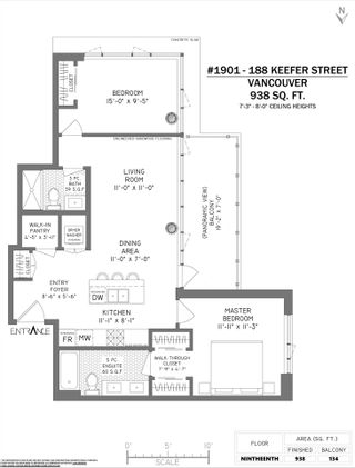 """Photo 39: 1901 188 KEEFER Street in Vancouver: Downtown VE Condo for sale in """"188 Keefer"""" (Vancouver East)  : MLS®# R2580272"""