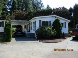 """Photo 1: 57 2305 200 Street in Langley: Brookswood Langley Manufactured Home for sale in """"CEDAR LANE"""" : MLS®# R2357125"""