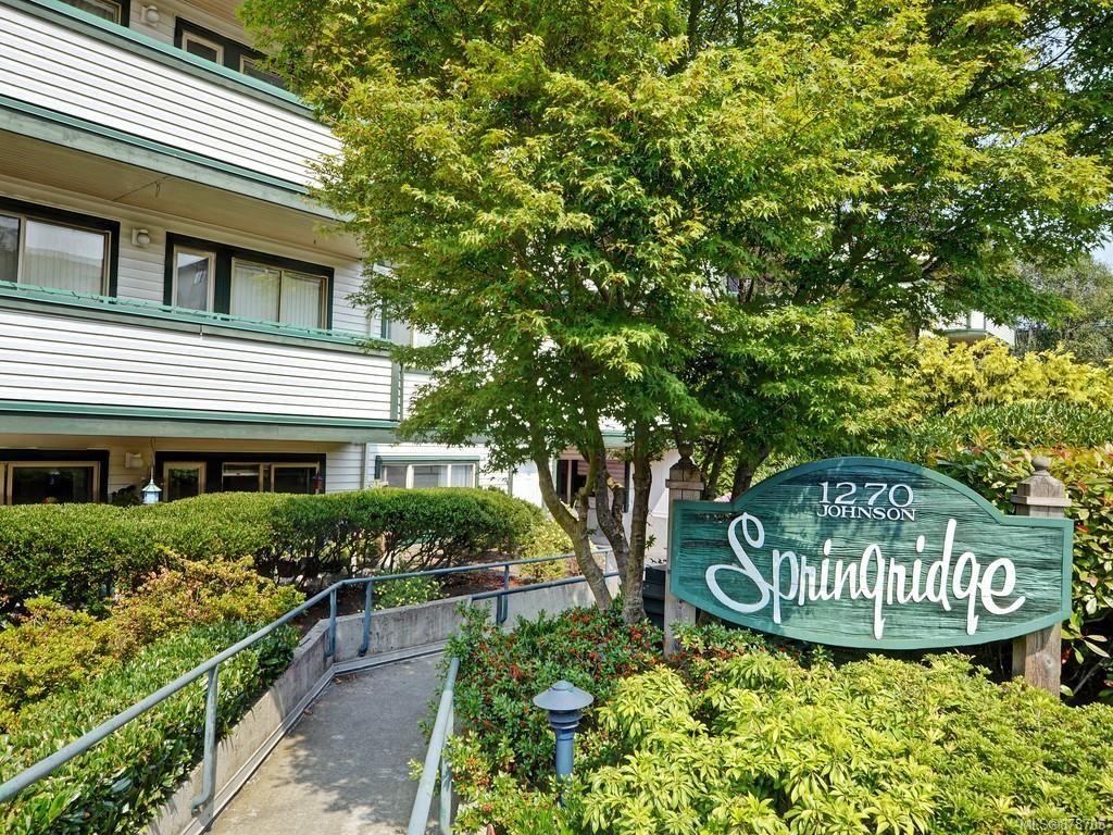 Main Photo: 203 1270 Johnson St in : Vi Downtown Condo for sale (Victoria)  : MLS®# 878705