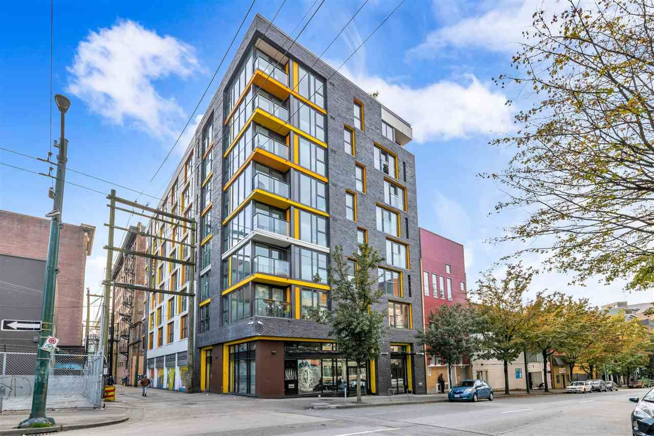 """Main Photo: 606 150 E CORDOVA Street in Vancouver: Downtown VE Condo for sale in """"INGASTOWN"""" (Vancouver East)  : MLS®# R2512729"""