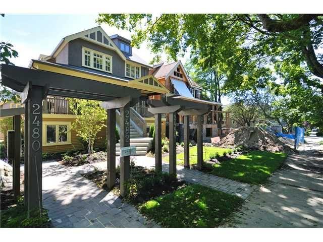 Main Photo: 2482 W 8TH Avenue in Vancouver: Kitsilano Condo for sale (Vancouver West)  : MLS®# V982432