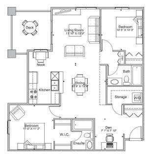 Photo 11: 202 11804 22 Avenue in Edmonton: Zone 55 Condo for sale : MLS®# E4254226