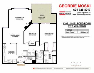 """Photo 3: 208 19121 FORD Road in Pitt Meadows: Central Meadows Condo for sale in """"EDGEFORD MANOR"""" : MLS®# R2075500"""