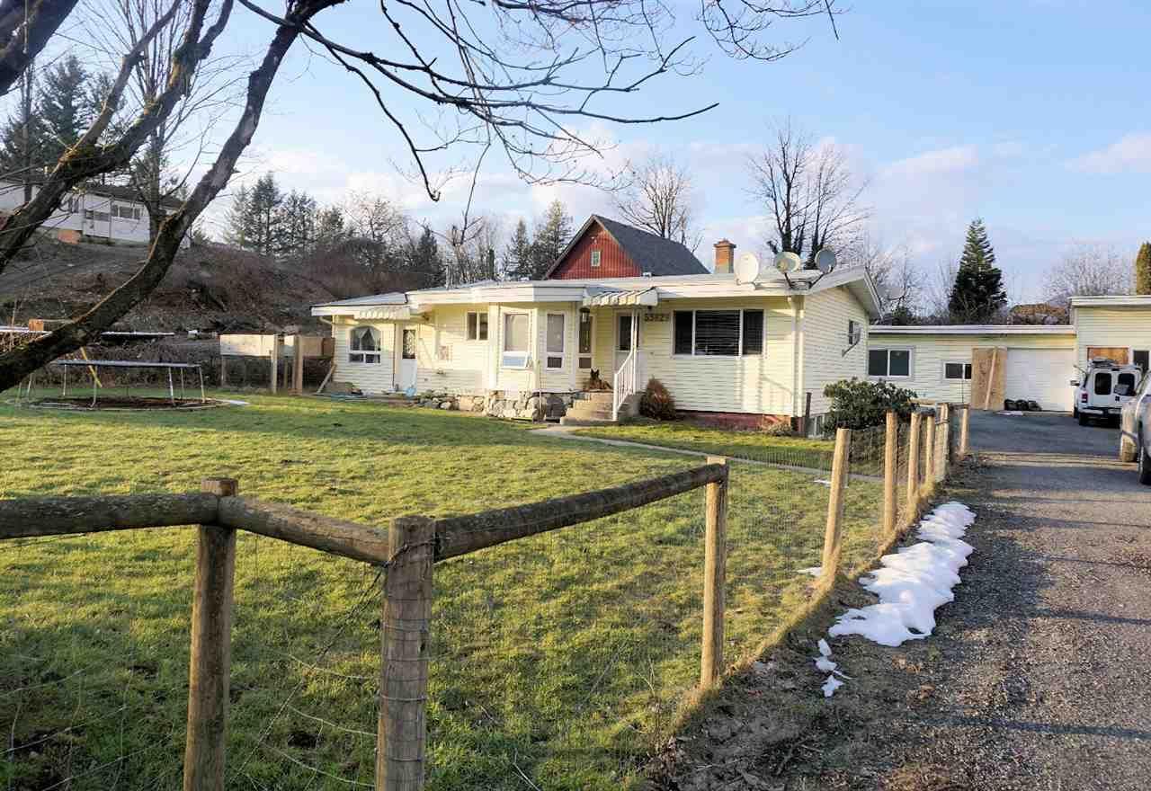 Main Photo: 53829 MCGREGOR Road in Rosedale: Rosedale Popkum House for sale : MLS®# R2140430