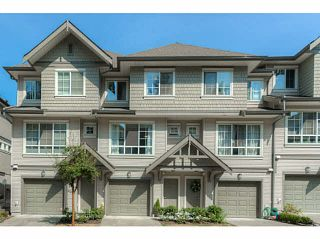 "Photo 1: 146 9133 GOVERNMENT Street in Burnaby: Government Road Townhouse for sale in ""TERRAMOR"" (Burnaby North)  : MLS®# V1139723"
