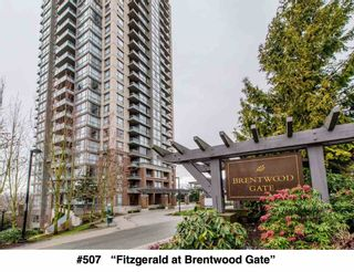 """Photo 1: 507 4888 BRENTWOOD Drive in Burnaby: Brentwood Park Condo for sale in """"Fitzgerald at Brentwood Gate"""" (Burnaby North)  : MLS®# R2148450"""