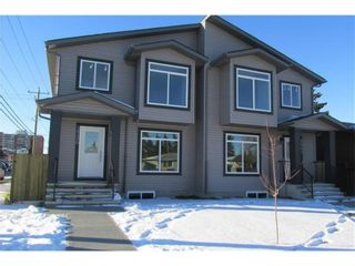 Main Photo: 1541 37 Street SE in Calgary: Forest Lawn Semi Detached for sale : MLS®# A1075559