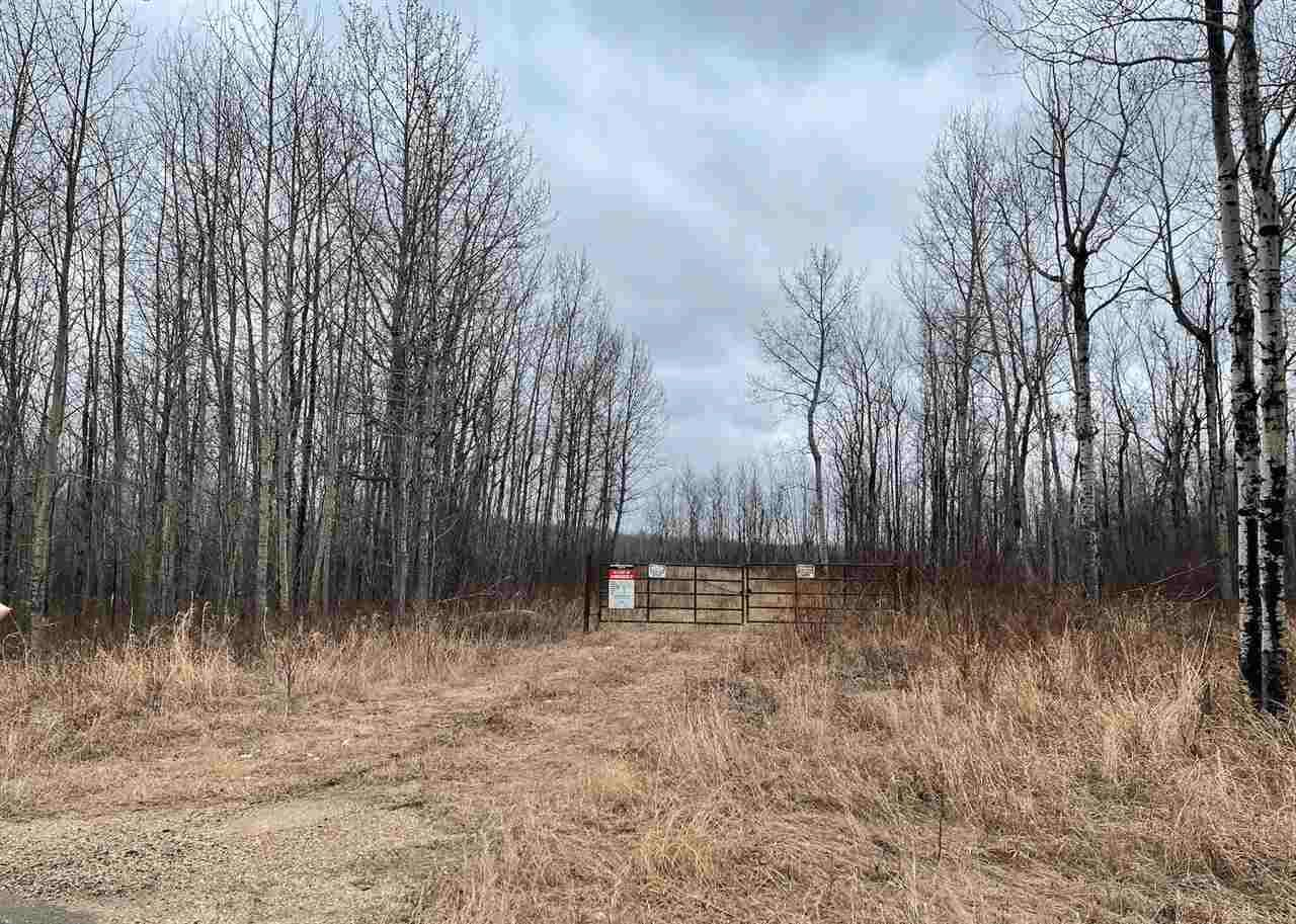 Main Photo: : Rural Westlock County Rural Land/Vacant Lot for sale : MLS®# E4241457