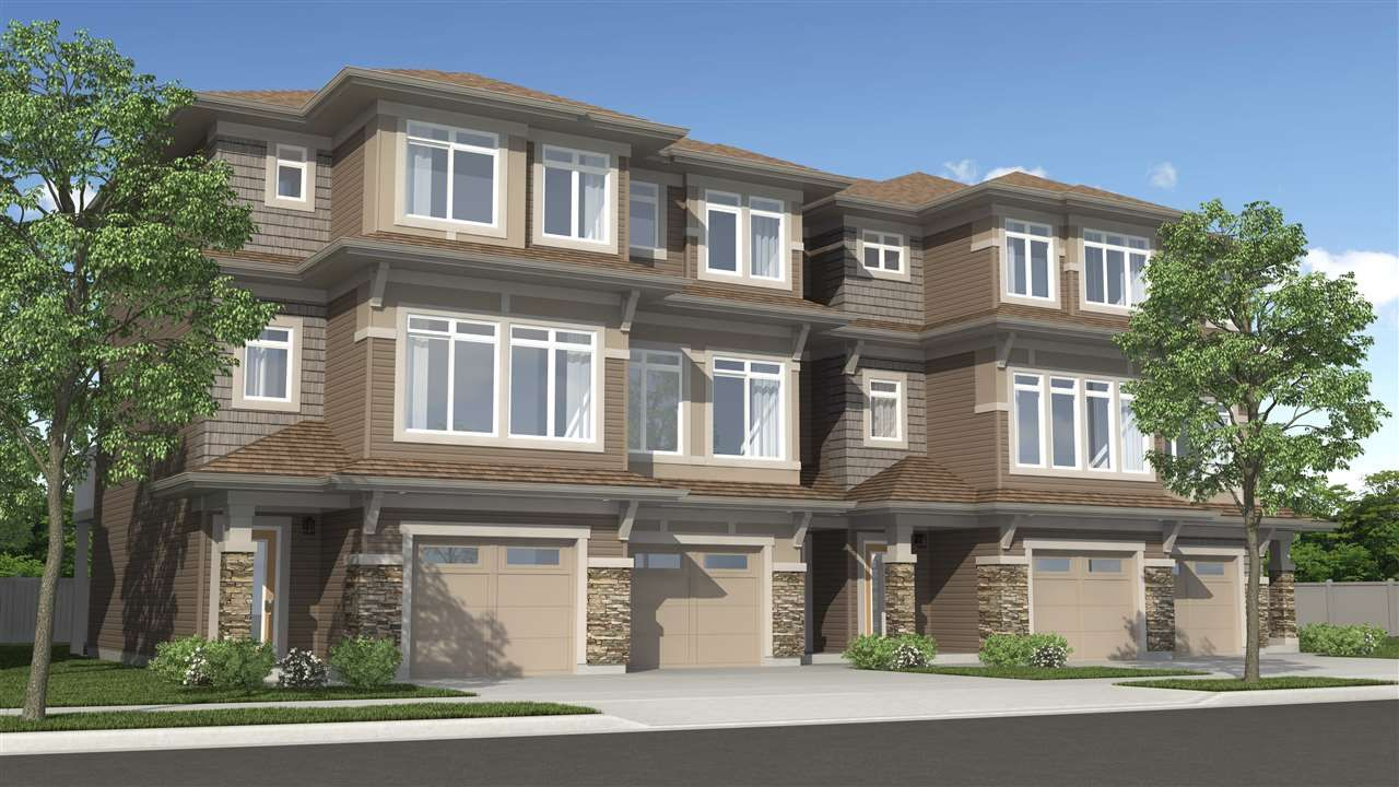 Main Photo: 87 Joyal WY: St. Albert Attached Home for sale : MLS®# E4159495