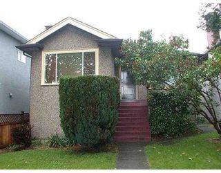Photo 1: 1905 E 53RD AV in Vancouver: Killarney VE House for sale (Vancouver East)  : MLS®# V543529