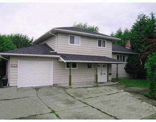 Main Photo: 8391 DELAWARE Road in Richmond: Woodwards House for sale : MLS®# V758846