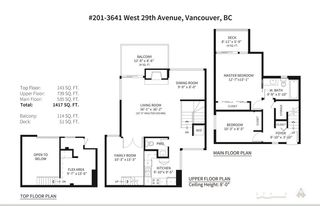 Photo 17: 201 3641 W 29TH Avenue in Vancouver: Dunbar Townhouse for sale (Vancouver West)  : MLS®# R2549344