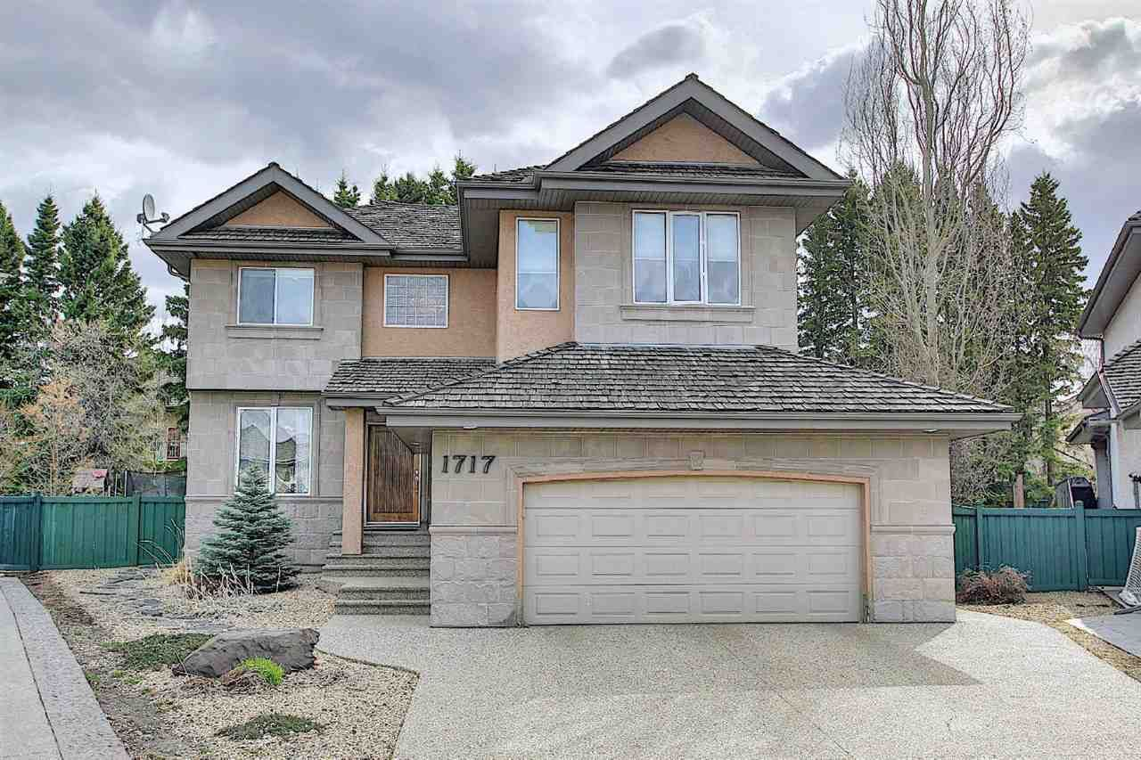 Main Photo: 1717 Hector Place in Edmonton: Zone 14 House for sale : MLS®# E4241604