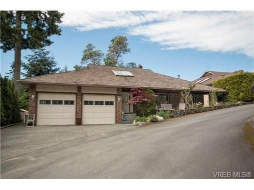 Main Photo: 6684 Lydia Pl in BRENTWOOD BAY: CS Brentwood Bay House for sale (Central Saanich)  : MLS®# 731395