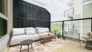 "Photo 34: 411 13789 107A Avenue in Surrey: Whalley Condo for sale in ""Quattro 2"" (North Surrey)  : MLS®# R2601173"