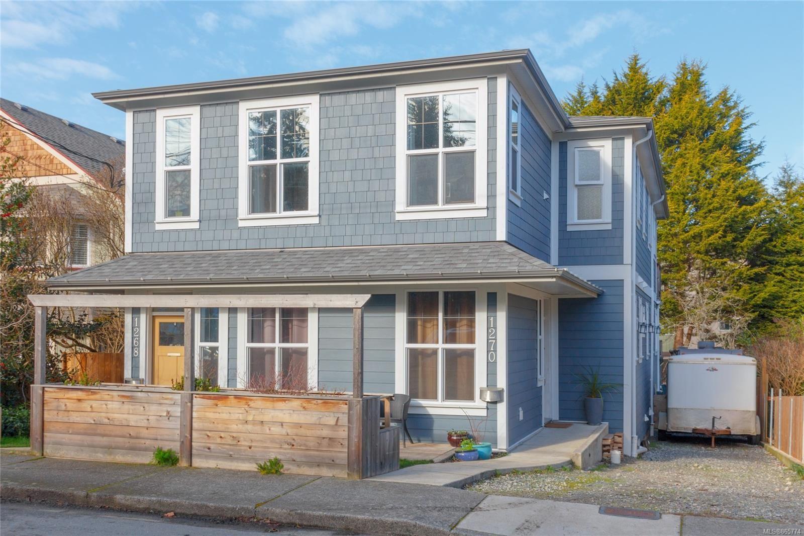 Main Photo: 1268/1270 Walnut St in : Vi Fernwood Full Duplex for sale (Victoria)  : MLS®# 865774