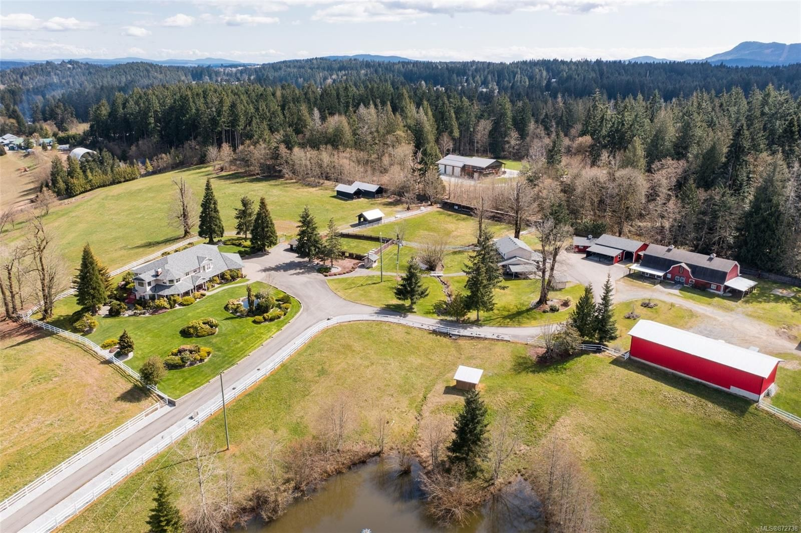 Main Photo: 1358 Freeman Rd in : ML Cobble Hill House for sale (Malahat & Area)  : MLS®# 872738