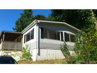 Photo 1: 12 2741 Stautw Rd in SAANICHTON: CS Hawthorne Manufactured Home for sale (Central Saanich)  : MLS®# 658840