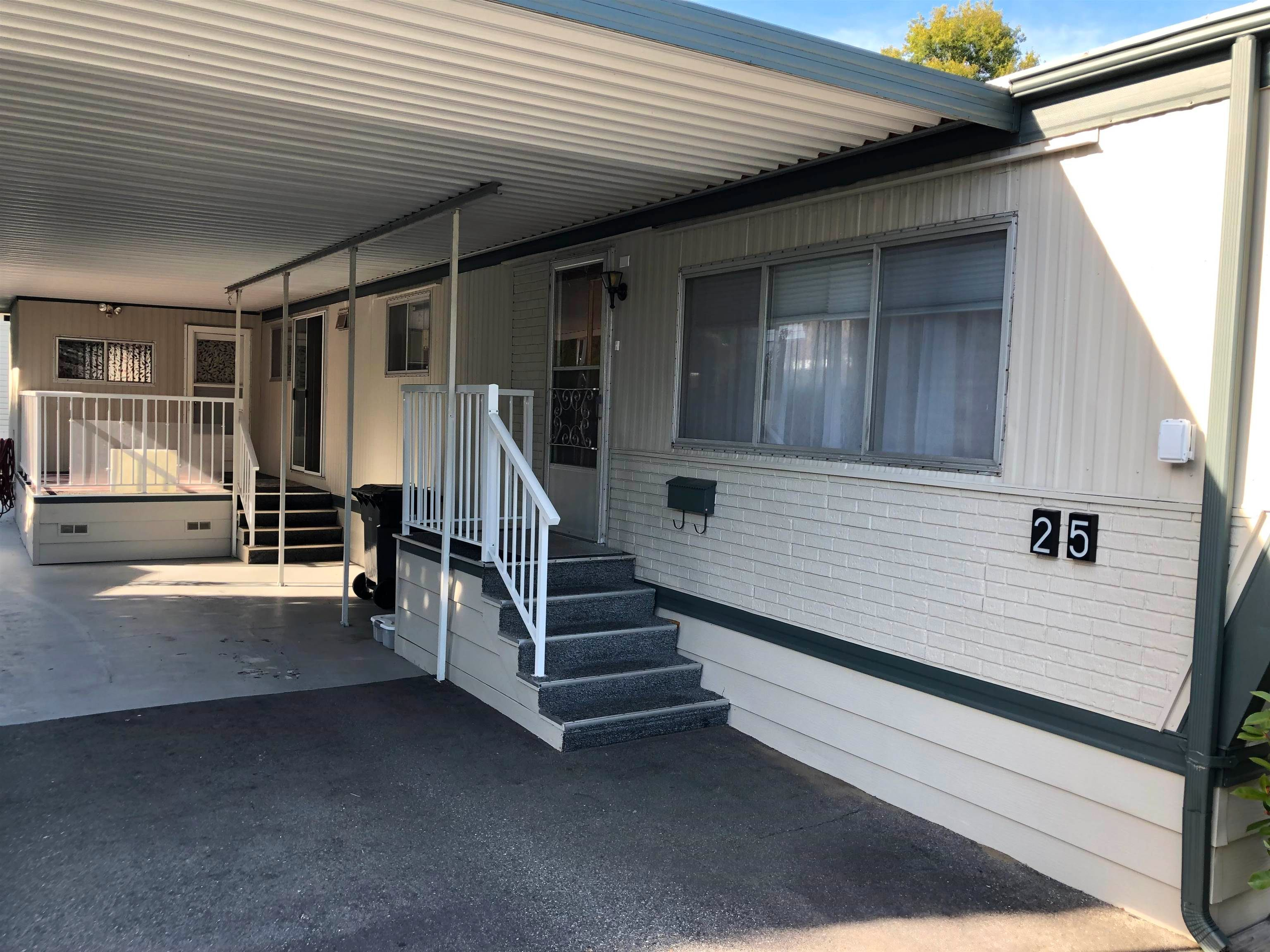 Main Photo: 25 1840 160 Street in Surrey: King George Corridor Manufactured Home for sale (South Surrey White Rock)  : MLS®# R2609635