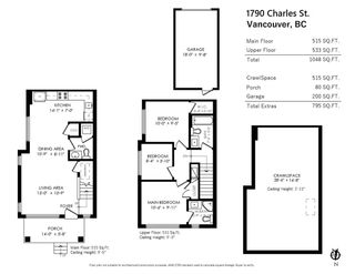 """Main Photo: 1790 CHARLES Street in Vancouver: Grandview Woodland 1/2 Duplex for sale in """"CHARLES & SALSBURY"""" (Vancouver East)  : MLS®# R2543666"""