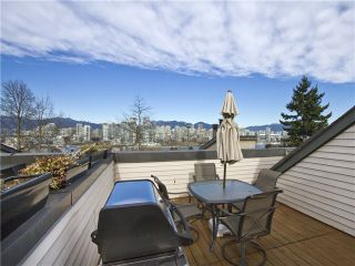 Photo 15: 4 1040 W 7TH Avenue in Vancouver: Fairview VW Townhouse for sale (Vancouver West)  : MLS®# V1047822