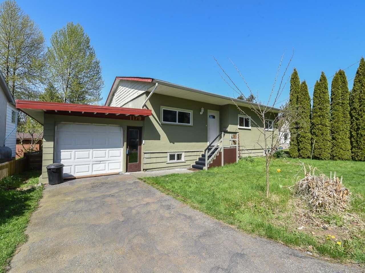 Main Photo: 1179 CUMBERLAND ROAD in COURTENAY: CV Courtenay City House for sale (Comox Valley)  : MLS®# 785368