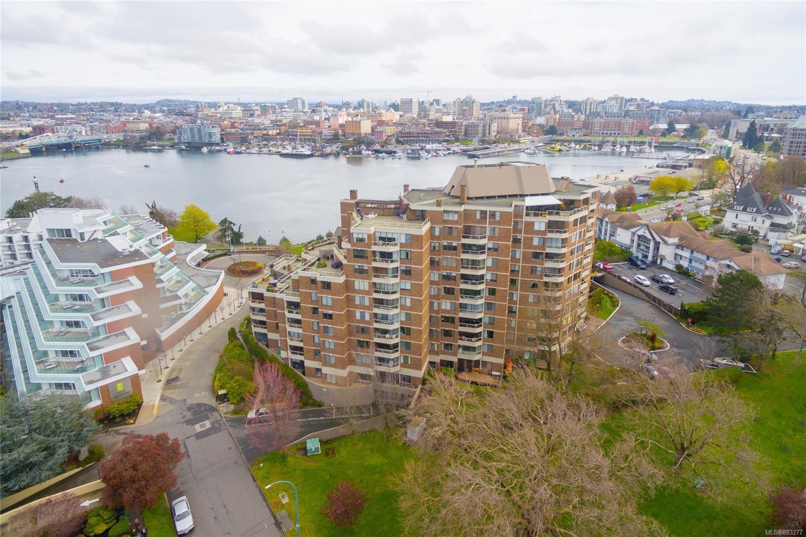 Main Photo: 410 225 Belleville St in : Vi James Bay Condo for sale (Victoria)  : MLS®# 883277
