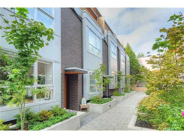 Main Photo: 5 2188 W 8TH Avenue in Vancouver: Kitsilano Townhouse for sale (Vancouver West)  : MLS®# R2471110