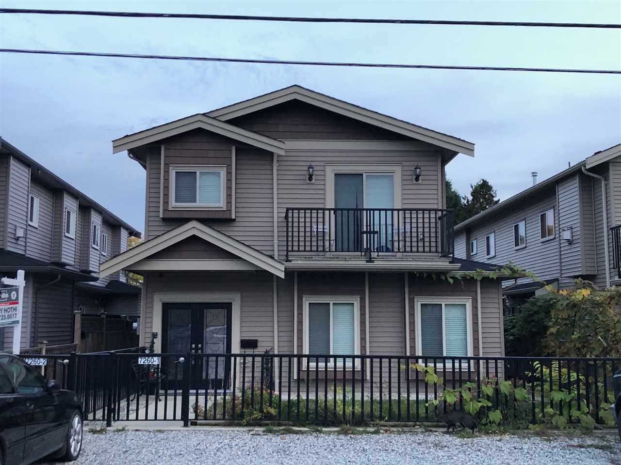 Main Photo: 1 7260 11TH Avenue in Burnaby: Edmonds BE 1/2 Duplex for sale (Burnaby East)  : MLS®# R2557173