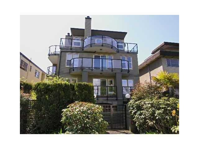 Main Photo: 5 1966 YORK Avenue in Vancouver: Kitsilano Townhouse for sale (Vancouver West)  : MLS®# V836729
