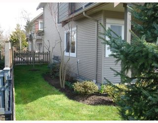 """Photo 3: 13 7733 HEATHER Street in Richmond: McLennan North Townhouse for sale in """"HEARTSTONE"""" : MLS®# V701542"""
