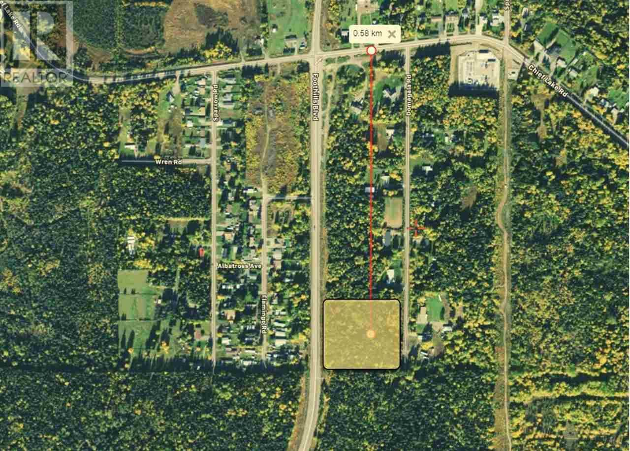 Main Photo: 8265 DOMAGALA ROAD in PG City North (Zone 73): Vacant Land for sale : MLS®# C8037050