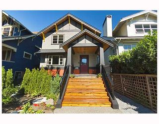 Photo 1: 3259 W 2ND Avenue in Vancouver: Kitsilano 1/2 Duplex for sale (Vancouver West)  : MLS®# V682512