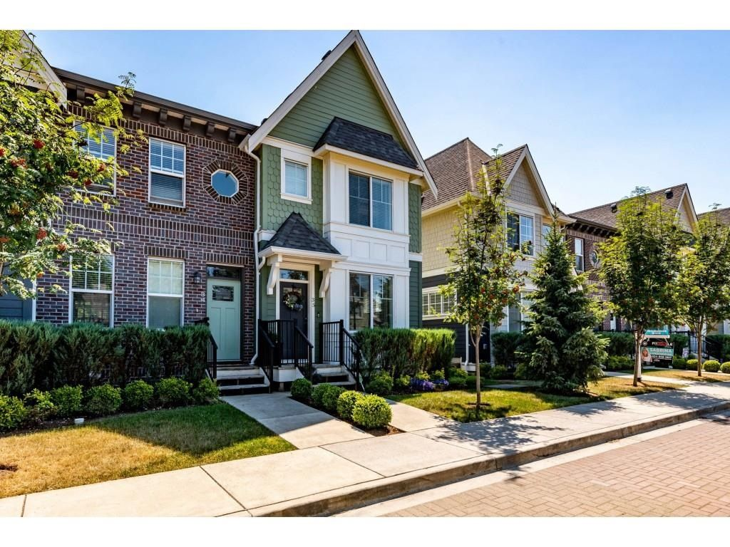 """Main Photo: 35 45462 TAMIHI Way in Chilliwack: Vedder S Watson-Promontory Townhouse for sale in """"Brixton Station"""" (Sardis)  : MLS®# R2596949"""