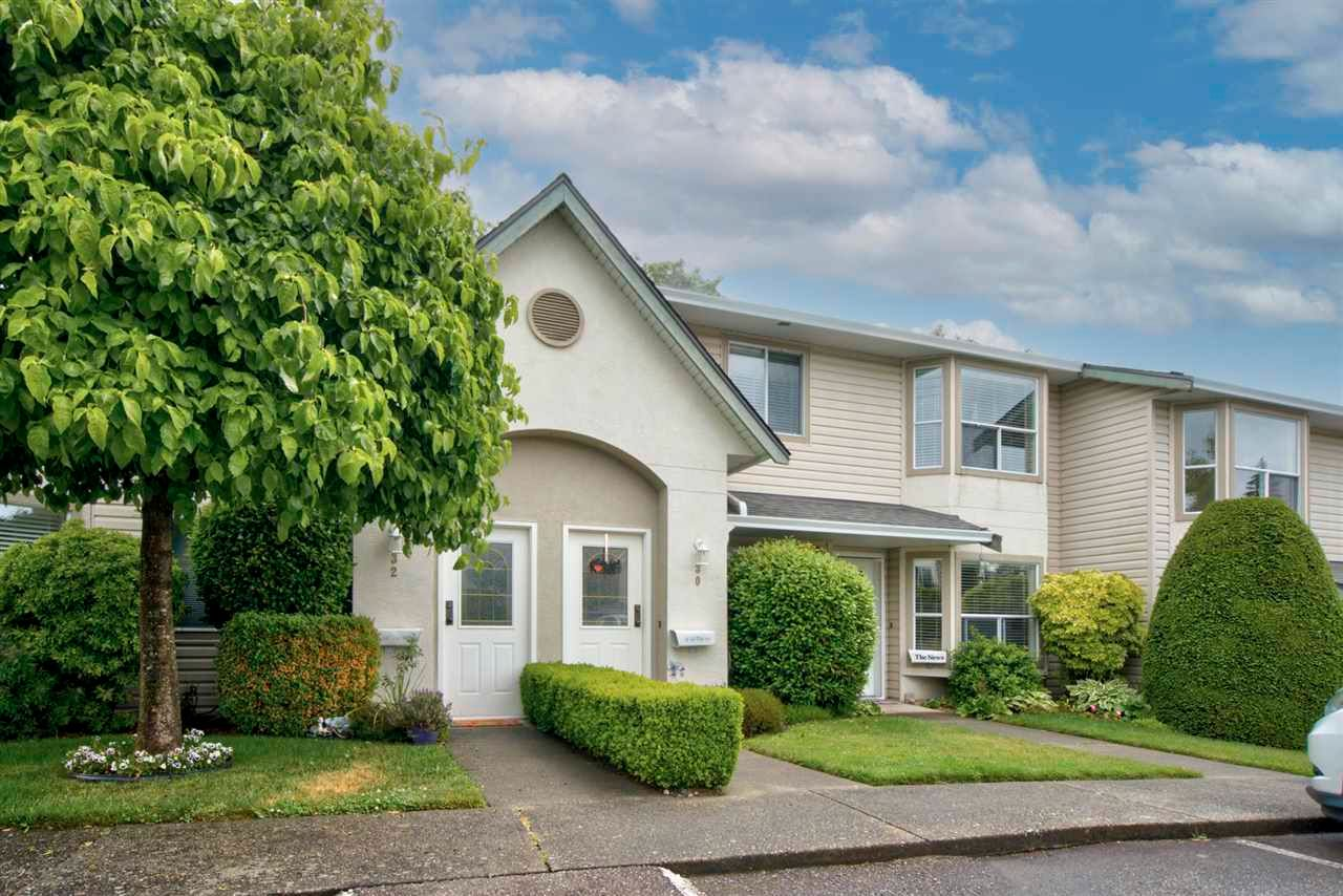 """Main Photo: 30 3380 GLADWIN Road in Abbotsford: Central Abbotsford Townhouse for sale in """"FOREST EDGE"""" : MLS®# R2592170"""