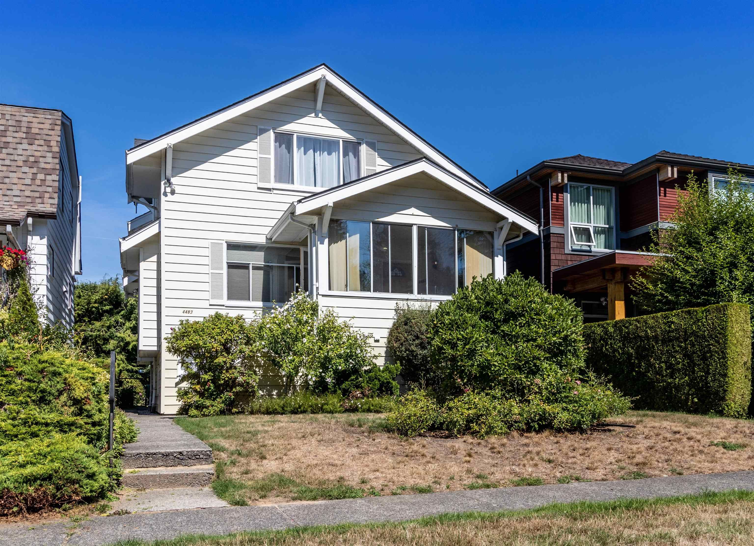 Main Photo: 4483 W 14TH Avenue in Vancouver: Point Grey House for sale (Vancouver West)  : MLS®# R2616076