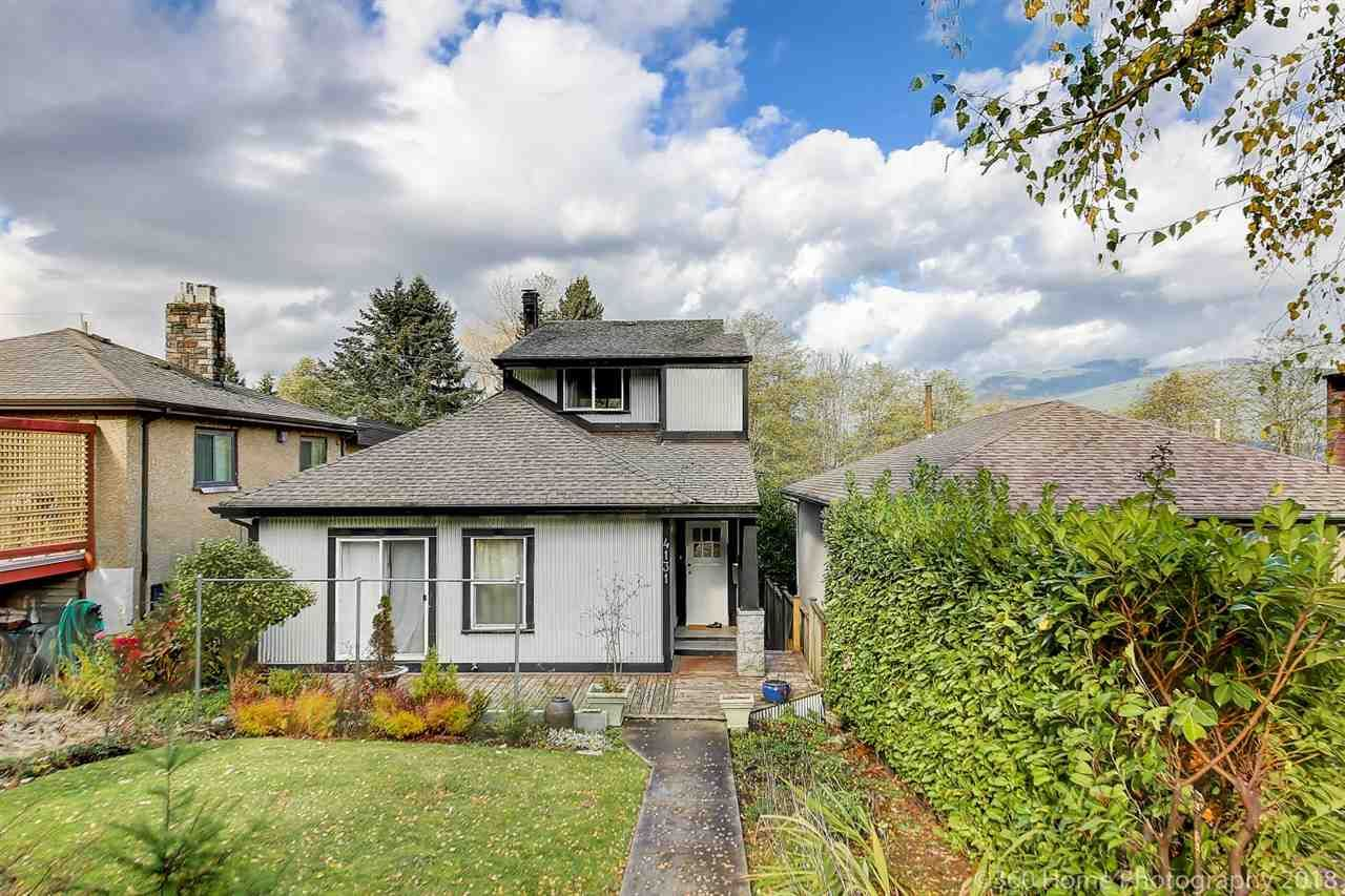 Main Photo: 4131 YALE Street in Burnaby: Vancouver Heights House for sale (Burnaby North)  : MLS®# R2530870