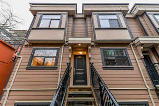"Photo 3: 206 828 ROYAL Avenue in New Westminster: Downtown NW Townhouse for sale in ""BRICKSTONE WALK"" : MLS®# R2222014"