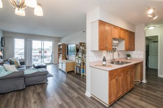 """Photo 1: 327 22661 LOUGHEED Highway in Maple Ridge: East Central Condo for sale in """"GOLDEN EARS ESTATE"""" : MLS®# R2576397"""