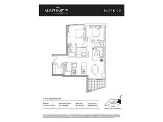 """Photo 20: 2002 918 COOPERAGE Way in Vancouver: Yaletown Condo for sale in """"MARINER"""" (Vancouver West)  : MLS®# V1116237"""