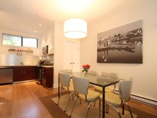 """Photo 4: 854 W 6TH Avenue in Vancouver: Fairview VW Townhouse for sale in """"BOXWOOD GREEN"""" (Vancouver West)  : MLS®# V904480"""
